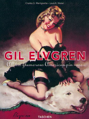 GIL ELVEGREEN. All this glamourous american pin-up...